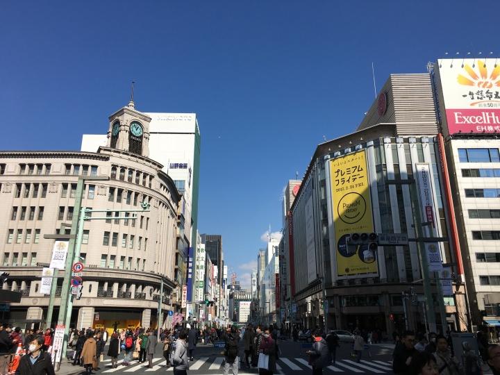 Tokyo so far…
