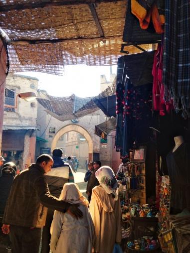 Busy medina