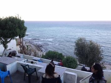 The beautiful seaside cafe!